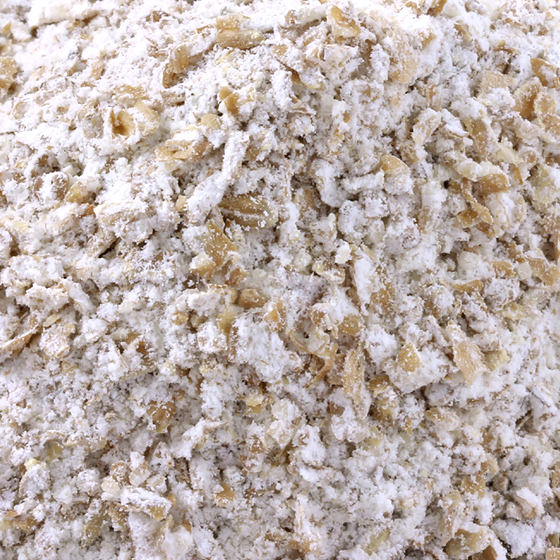 Ground oat groat
